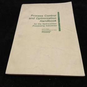 泾加工工业的过程控制和最优化手册。