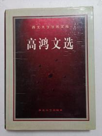高鸿文选(西北大学学术文库)