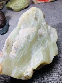 3293  和田玉 青黄白玉  山流水 原石  4.2斤