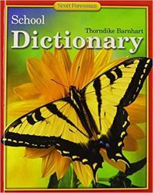 THORNDIKE BARNHART SCHOOL DICTIONARY 2001C