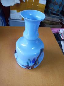 老琉璃花瓶(很美)
