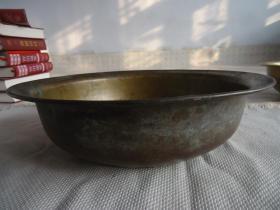 老铜盆(特价商品不退不换)