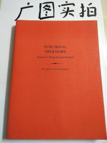 FUNCTIONAL OPERATOPS Volume I:Measures AND Inregrals