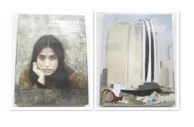 中国嘉德2016春季拍卖会   二十世纪及当代艺术 ` 中国二十世纪及当代艺术之夜    两本合售    大16开铜版厚册