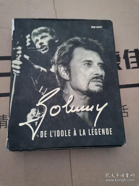 johnny DE L IDOLE A LA LEGENDE【精装纪念册】带盒子