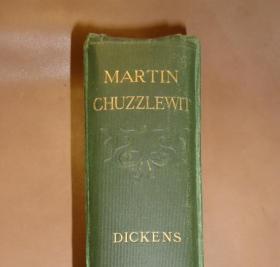1906年 CHARLES DICKENS :Martin Chuzzlewit _ 狄更斯《马丁•翟述伟》钢板画插图 品佳 增补精美插图
