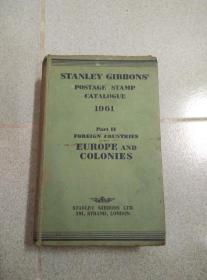 STANLEY GIBBONS POSTAGE STAMP CATALOGUE 1961 PART Ⅱ