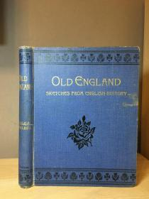 1907 Old England Sketches From English History by Walker 插图 25*19.5cm