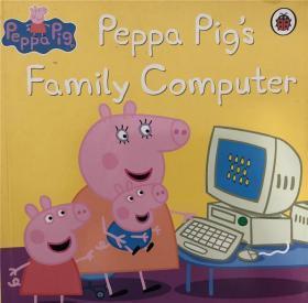 平装 peppa pigs family computer 猪家庭电脑