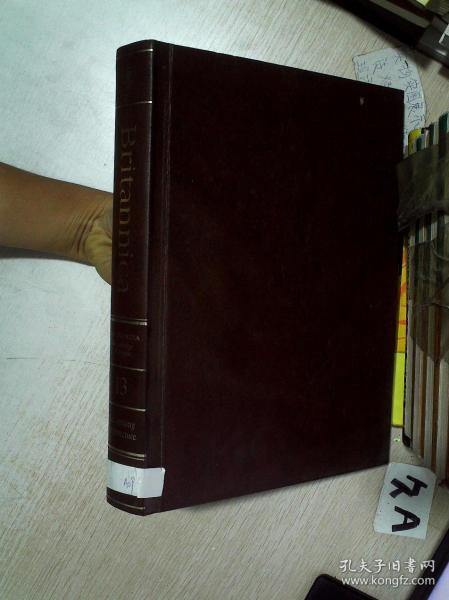 The New Encyclopædia Britannica Volume 13 新大英百科全书第13卷 大16开   (01)