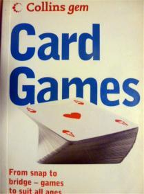 英文原版       Card Games: From snap to bridge-games to suit all ages