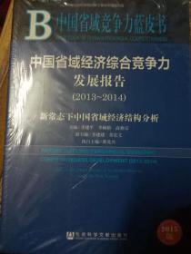 中国省域经济综合竞争力发展报告2013-2014