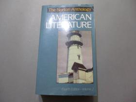 英文原版:The Norton Anthology Of American Literature(Fourth Edition)Volume 2