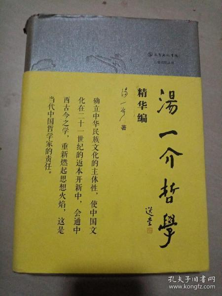 汤一介哲学(精华编)