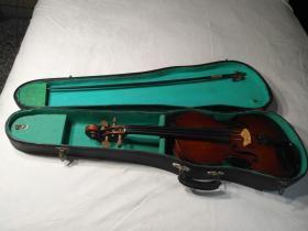 快乐牌4分之4成人小提琴