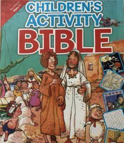 平装 childrens activity bible 儿童活动圣经