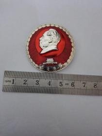 毛主席像章 (紧跟毛主席,)建立勋工1967年12月28日