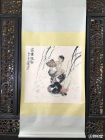 周沧米 纯手绘工艺品