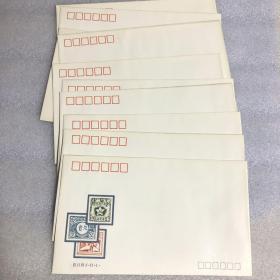 J.169《中国人民革命战争时期邮票发行六十周年》纪念邮票首日封(十张合售)