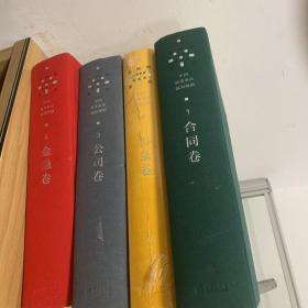 中国商事诉讼裁判规则 天同码系列 中国案例钥匙码 :金融卷4、公司卷3、合同卷1、目录卷 、(4本合售)