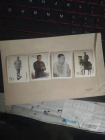邮票,周恩来诞生100周年,一套4枚全新