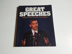 英文原版GREAT SPEECHES(见描述)