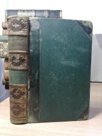 1883年   THE DRAMATIC WORKS OF WILLIAM SHAKESPEARE  第6卷  半皮装帧   三面书口花纹   17X11CM