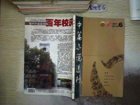 中篇小说选刊 2007 6