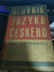 slovnik jazyka ceskeho 原版捷克语词典 1801页 约5万词
