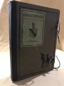 Shakespeare rare print collection  莎士比亚著作珍稀版画集  12册全套一函