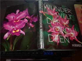 英法德意等外文原版 WUNDERWELT DER ORCHIDEEN 大16开硬精装
