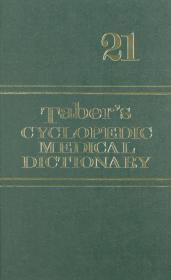 正版二手 Tabers Cyclopedic Medical Dictionary: 21th Edition (Thumb Index) 英文原版-《泰伯广泛医学词典(第21版)》(拇指索引) 9780803615595