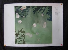 原创作品水彩画 3   画面尺寸33X33CM  用纸高档代水印