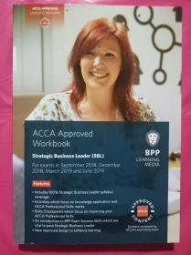正版二手 ACCA Approved Workbook Strategic Business Leader(SBL)For exams from September 2018 ,December 2018,March 2019 and June 2019 9781509715466