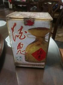 """1998年1月38度""""无上妙品""""酒鬼酒-酒瓶酒盒一套"""