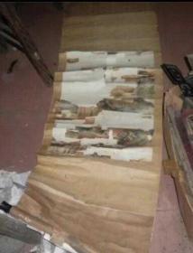 旧藏七八十年代老套子一个,画应该是个老的缺损了