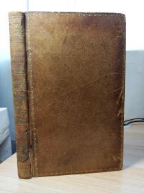 1789年 OEUVRES POSTHUMES DE FREDERIC II  德语  全皮装帧  三面书口花纹  22x13.6cm