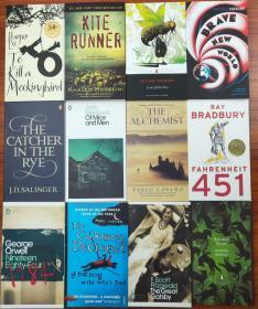 英美中学生必读经典书十二本