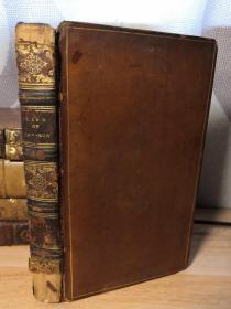 1819年 THE LIFE OF SAMUEL JOHNSON 第三本   带藏书票  全皮装帧  书口花纹  18X11CM  见图