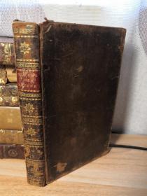 1811年  CEUVRES DE JEAN RACINE  ET LEVIZAC  全皮装帧   17.8X11CM