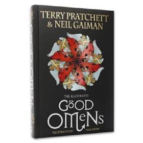 好兆头 插图插画版 英文原版 The Illustrated Good Omens 精装 Neil Gaiman Terry Pratchett