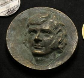 法国 大铜章 直径14.5厘米 2公斤
