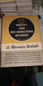 【英文原书书】Websters Third New International Dictionary Unabridged