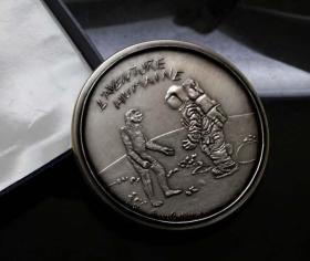 法国 大银章 非大铜章 从猿到人 从地球到月球 进化 达尔文 航天