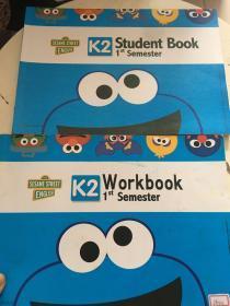 SESAME STREET ENGLISH K2 Student Book+Workbook(2册合售,Workbook书内图画)