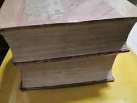 辞海民国第一版上下两册