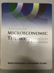 Microeconomic Theory: Basic Principles and Extensions(10e,中级微观经济学)
