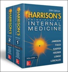 Harrisons Principles of Internal Medicine, Twentieth Edition (Vol.1 & Vol.2)