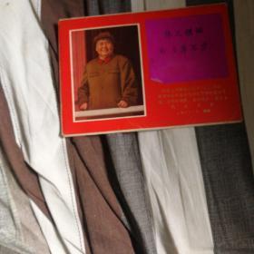 中国人民解放军后字203部队第四次活学活用毛泽东思想积极分子第二次四好连队,五好战士〈职工)代表大会1971.7西安(画册)