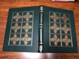 Oresteia Aeschylus 小12开巨册 真皮精装版, 书口三面刷金 能保存数百年的存档级别的无酸纸